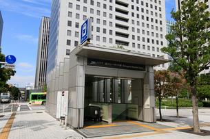品川シーサイド駅 B出入口の写真素材 [FYI01484009]