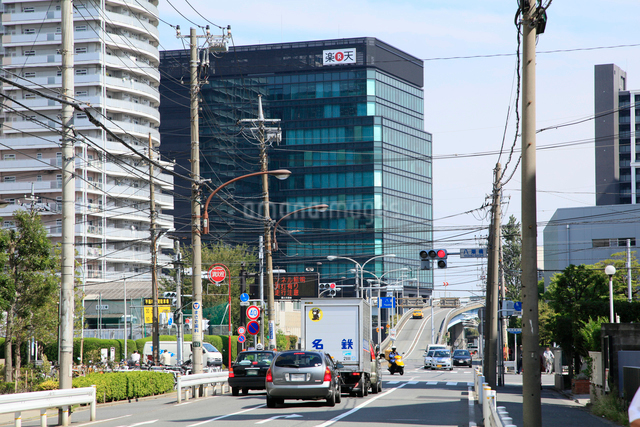 楽天タワー2号館の写真素材 [FYI01484158]