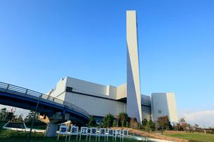 新江東清掃工場の写真素材 [FYI01484277]