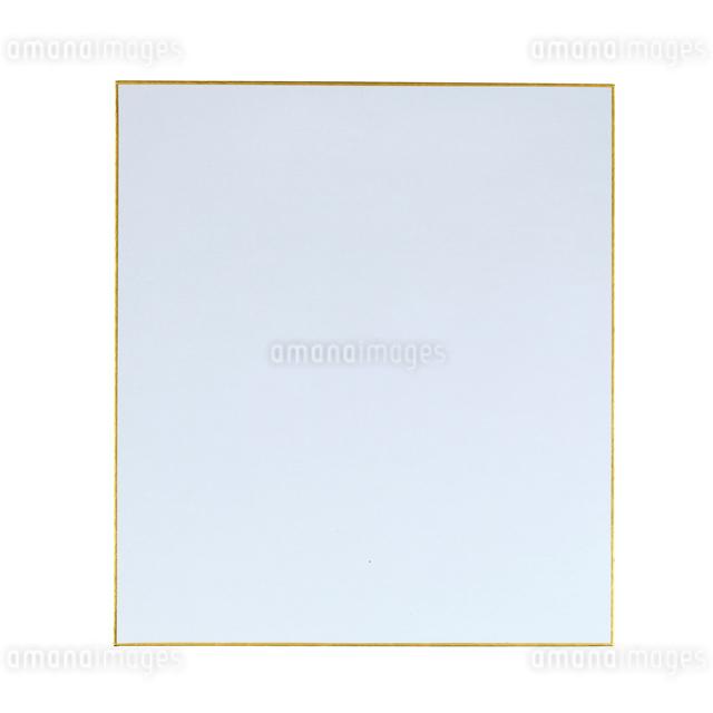 白い背景の色紙の写真素材 [FYI01484743]