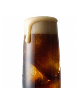グラスとコーラの写真素材 [FYI01484962]