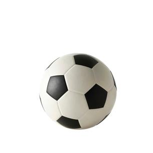 白い背景のサッカーボールの写真素材 [FYI01486584]