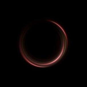 赤と黄色の円の背景の写真素材 [FYI01486725]