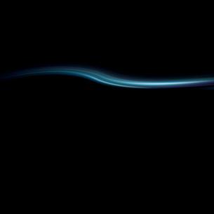 青く波打つ背景の写真素材 [FYI01486742]