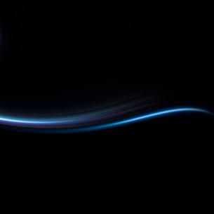 青く波打つ背景の写真素材 [FYI01486793]