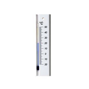 白い温度計の写真素材 [FYI01486861]