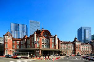 東京駅の写真素材 [FYI01486961]