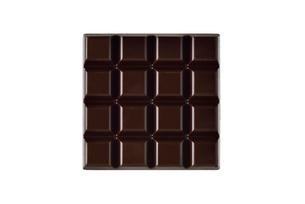 白い背景のチョコレートの写真素材 [FYI01487210]