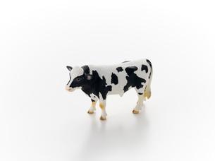 牛のオブジェの写真素材 [FYI01488376]