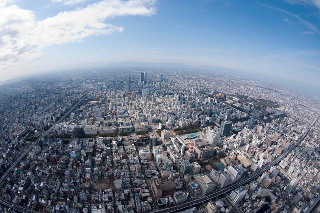 名古屋市内 栄周辺の写真素材 [FYI01489531]