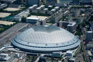 空撮:ナゴヤドームの写真素材 [FYI01490047]