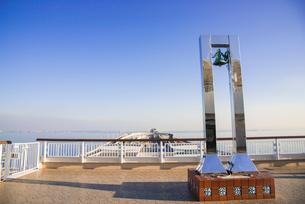 東京湾アクアライン海ほたるの写真素材 [FYI01490432]