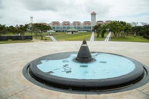 沖縄県平和祈念公園平和の礎の写真素材 [FYI01493414]