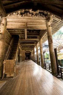 吉祥山 永平寺山門の写真素材 [FYI01493602]