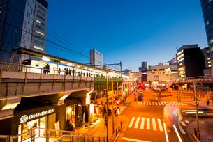 秋葉原駅夕景の写真素材 [FYI01493696]