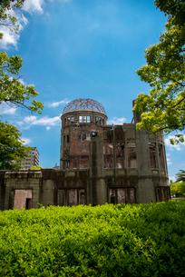 原爆ドームの写真素材 [FYI01494717]