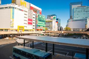 仙台駅西口前の写真素材 [FYI01494767]