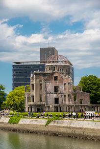 原爆ドームの写真素材 [FYI01495170]