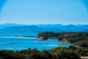 桐垣展望台より英虞湾を望むの写真素材 [FYI01495796]