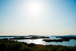 桐垣展望台より英虞湾を望むの写真素材 [FYI01495851]