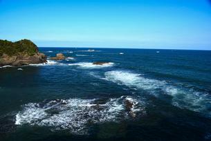大王崎より志摩の海の写真素材 [FYI01496122]