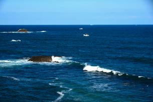 大王崎より志摩の海の写真素材 [FYI01496125]