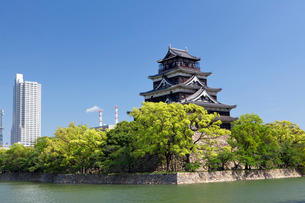 広島城の写真素材 [FYI01496437]