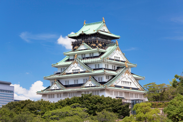 大阪城の写真素材 [FYI01496735]