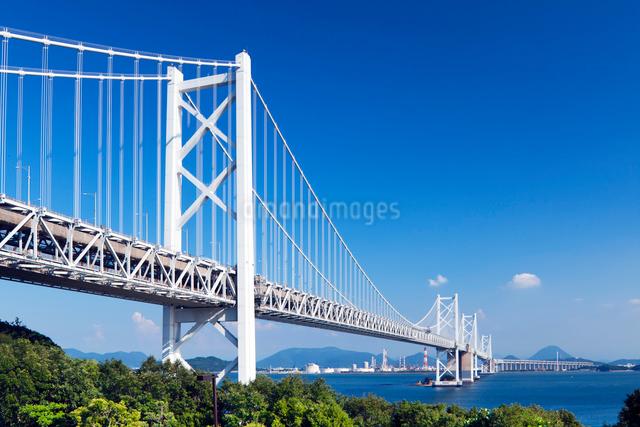 瀬戸大橋 北備讃瀬戸大橋の写真素材 [FYI01496750]