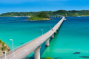 角島大橋の写真素材 [FYI01496804]