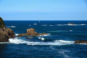 大王崎灯台より志摩の海の写真素材 [FYI01496999]