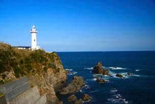 大王崎灯台の写真素材 [FYI01497292]