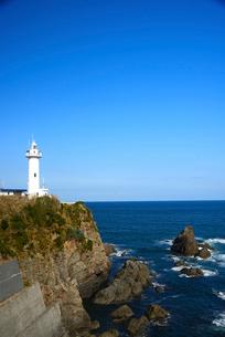 大王崎灯台の写真素材 [FYI01497390]
