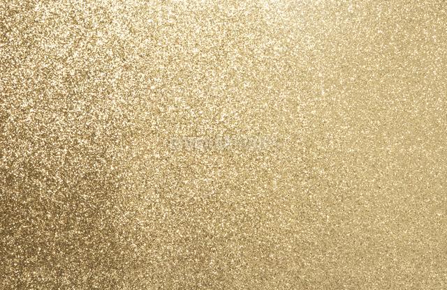 一面の金色のラメの写真素材 [FYI01497730]