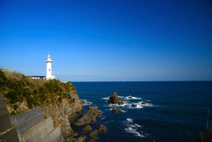 大王崎灯台の写真素材 [FYI01497784]