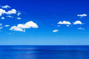雲と海の写真素材 [FYI01498015]