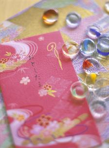 お正月の鏡餅の写真素材 [FYI01498612]