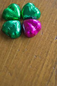 ハートのバレンタインチョコレートの写真素材 [FYI01499127]