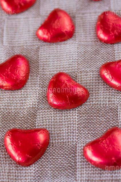 ハートのバレンタインチョコレートの写真素材 [FYI01499164]