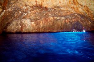 青の洞窟の写真素材 [FYI01499627]