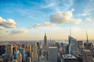 ロックフェラー・センターから望むマンハッタンの写真素材 [FYI01500154]