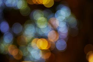 イルミネーションの光彩の写真素材 [FYI01500163]