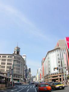 青空の街の写真素材 [FYI01500513]
