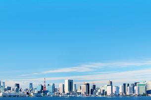 東京湾のビル群の写真素材 [FYI01500587]