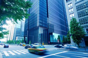 ビジネス街の写真素材 [FYI01500716]