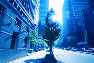 ビジネス街の写真素材 [FYI01500748]