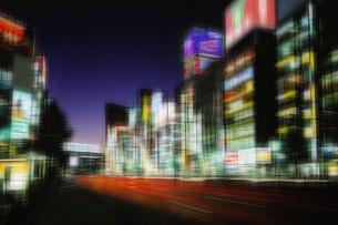 新宿の夜景の写真素材 [FYI01501160]