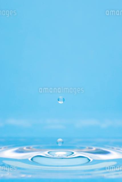 跳ねる水滴の写真素材 [FYI01501654]