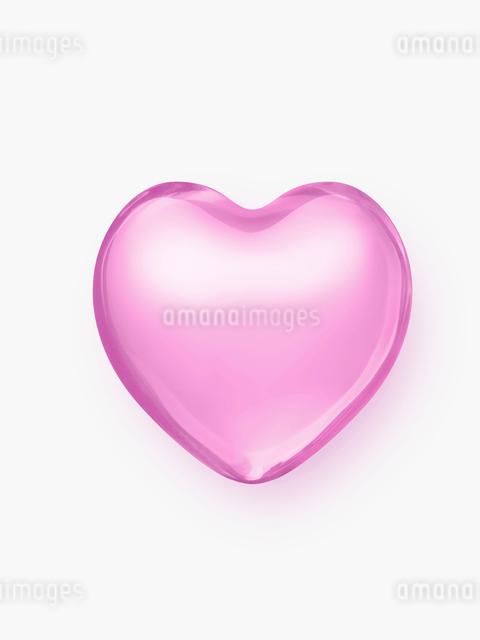 ピンクのハートの写真素材 [FYI01501894]