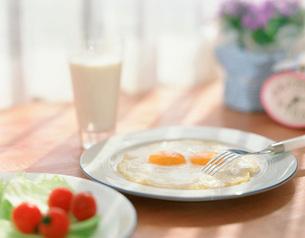 ミルクと目玉焼の写真素材 [FYI01501905]